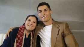 Dolores Aveiro y su hijo Cristiano Ronaldo