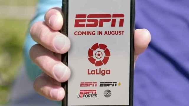 Disney compra los derechos de La Liga en EEUU para emitirlo en ESPN: 8 años y casi 1.200 millones de euros
