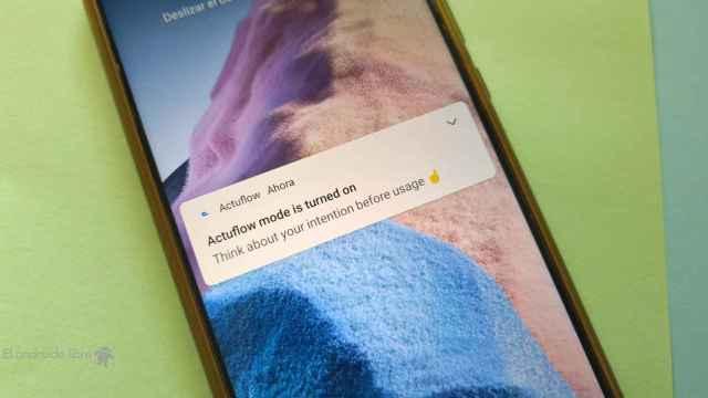 Una app que te ayuda a usar tu teléfono de forma saludable: Actuflow
