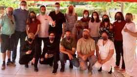 Foto de familia del nuevo Abrasador valenciano