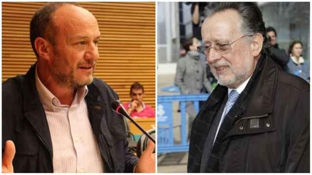 Rafael Rubio (PSPV-PSOE) y Alfonso Grau (PP). EE