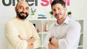 Fernando Martínez y Puria Shahdoost-Rad, fundadores de la empresa.