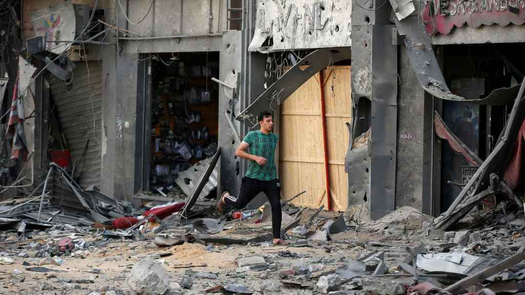 La destrucción en Gaza.