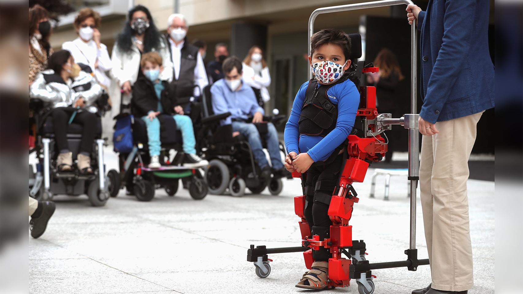 El exoesqueleto pediátrico.