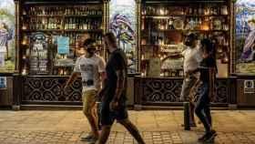 Un bar madrileño.