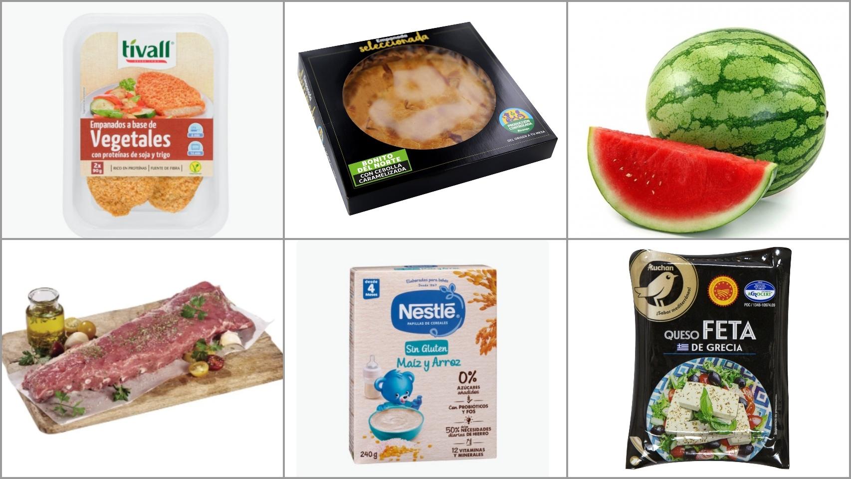Las 25 novedades de Mercadona, Lidl, Aldi, Alcampo y Carrefour: costillas, setas, cereales...