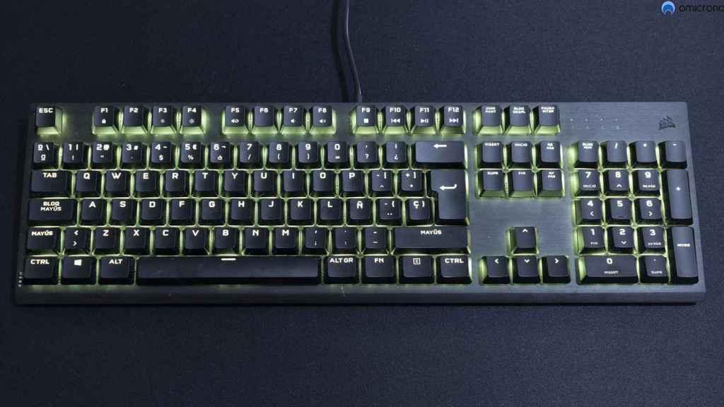 Es un teclado excelente.