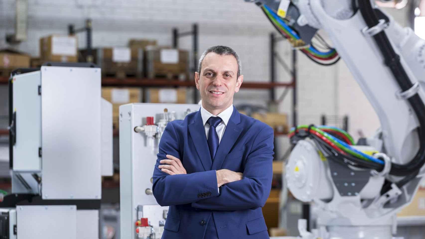 Sergio Martín, director general y jefe de Robótica y Automatización de ABB España y Portugal.