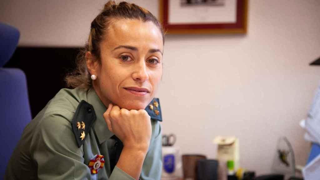 María José Garrido, capitán de la Guardia Civil.