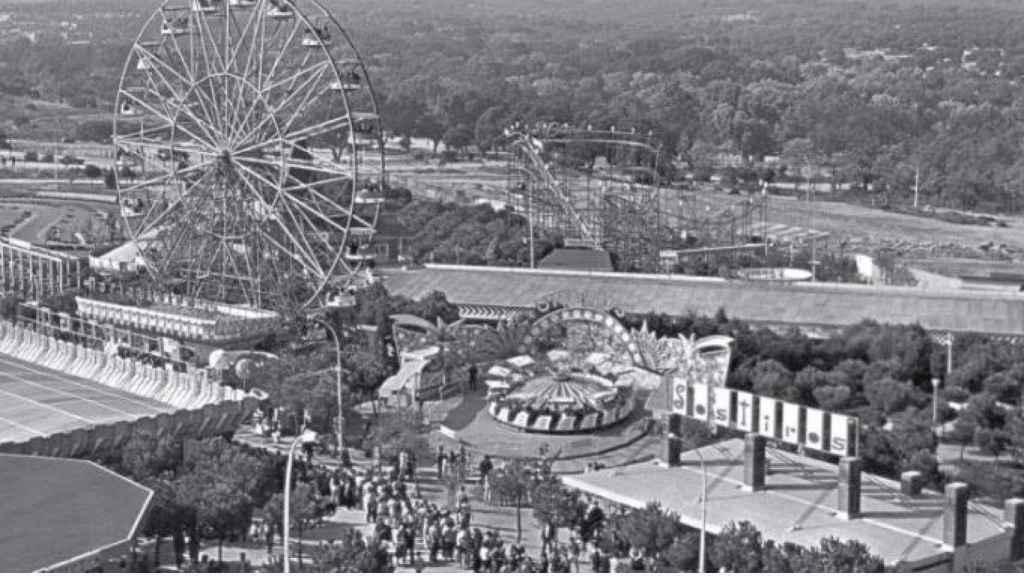 Parque de Atracciones en 1969