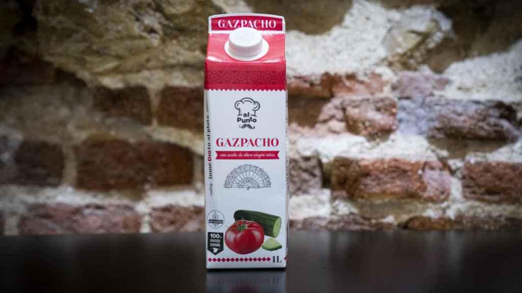 Imagen del gazpacho de Dia.