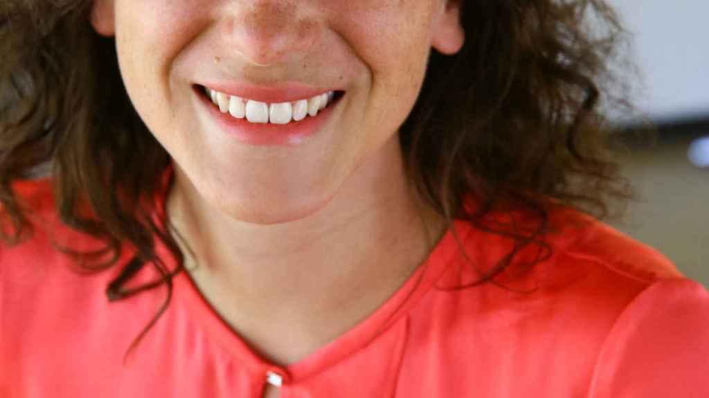 La directora general para España y Francia de VOI Technology, Charlotte Serres.