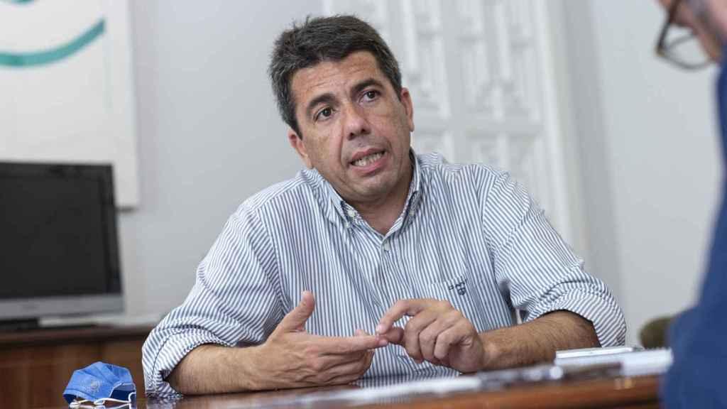 El presidente de la Diputación de Alicante.