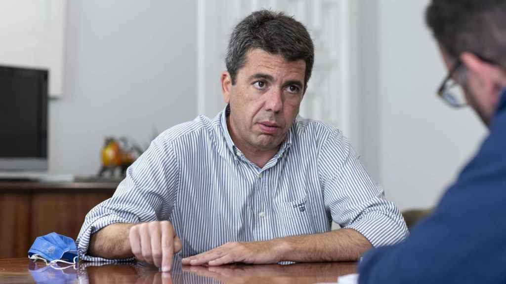 La entrevista a Carlos Mazón.