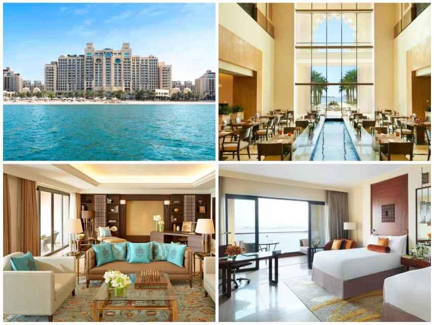 Algunas de las lujosas estancias del hotel Fairmont The Palm en el que se aloja Adara y Rodrigo.