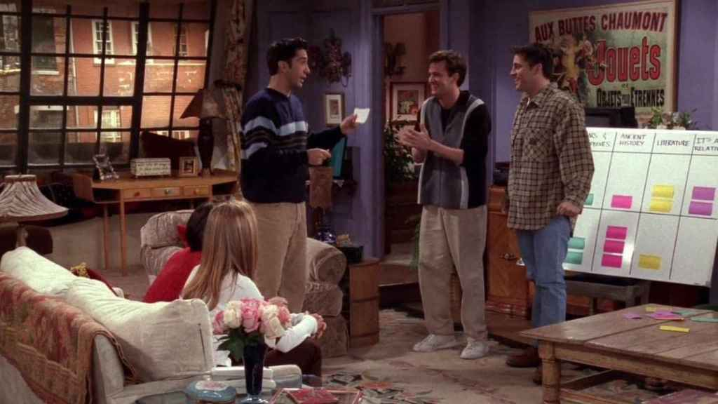 'Friends, episodio 'The One with the Embryos' (4x12)