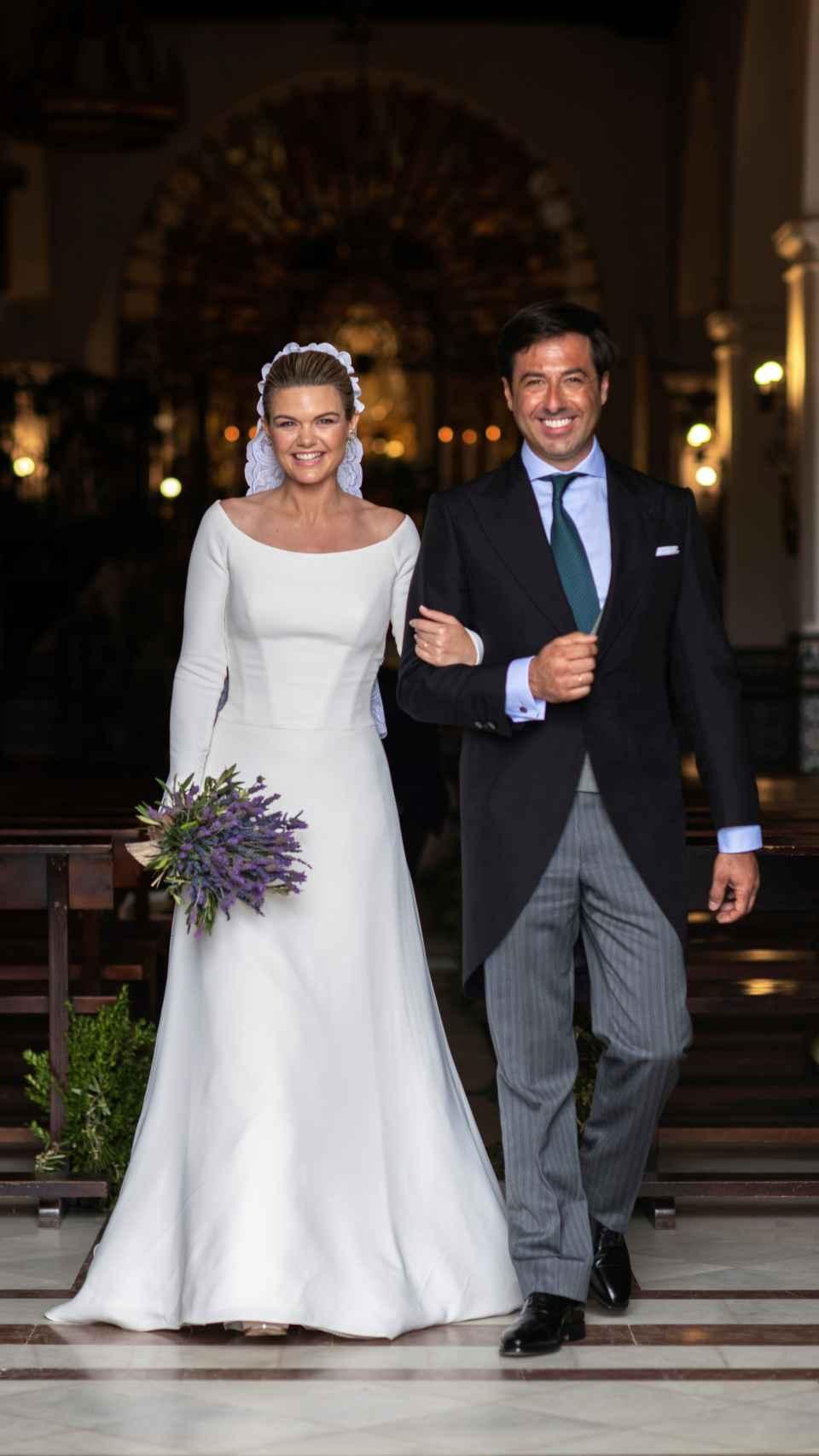 Alejandra Ruiz de Rato y su marido, Ernesto de Novales.