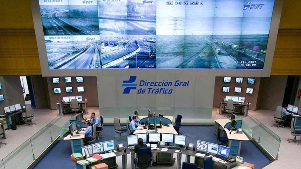 Centro de control de la Dirección General de Tráfico (DGT)