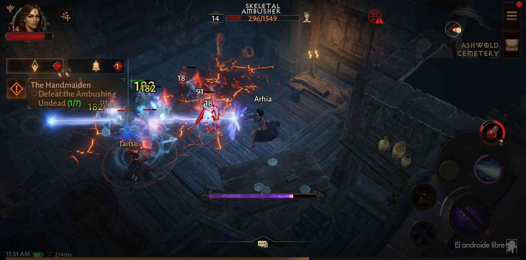 Así se ve Diablo Inmortal en el POCO F3