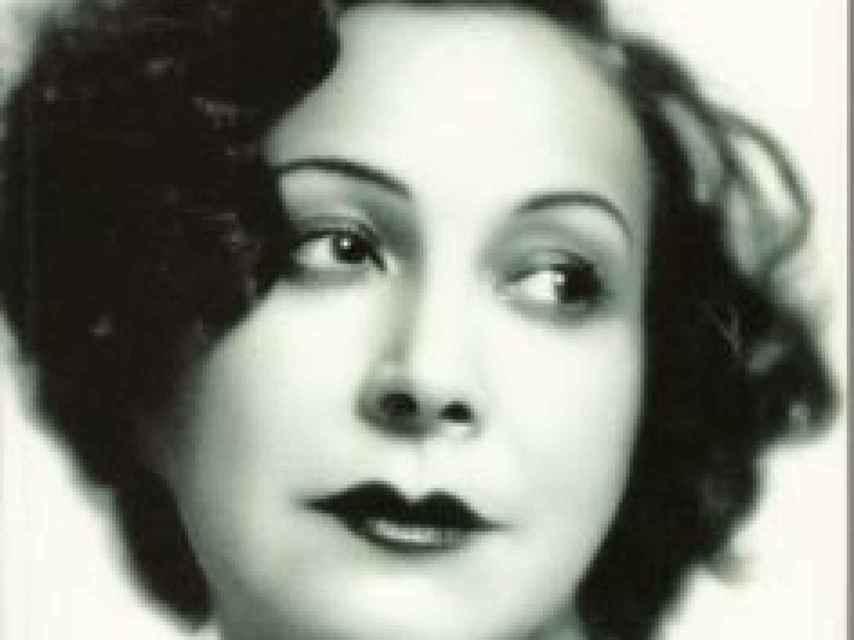 Margarita Bonmatí, esposa de Salinas.