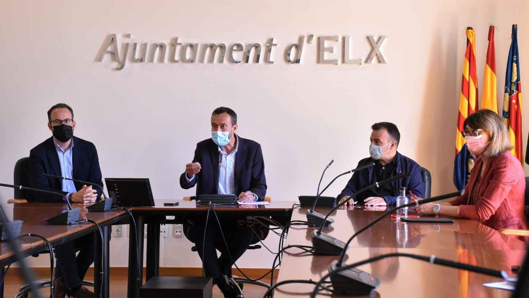 El alcalde de Elche defiende su gestión: Es absurdo no levantar reparos que están justificados