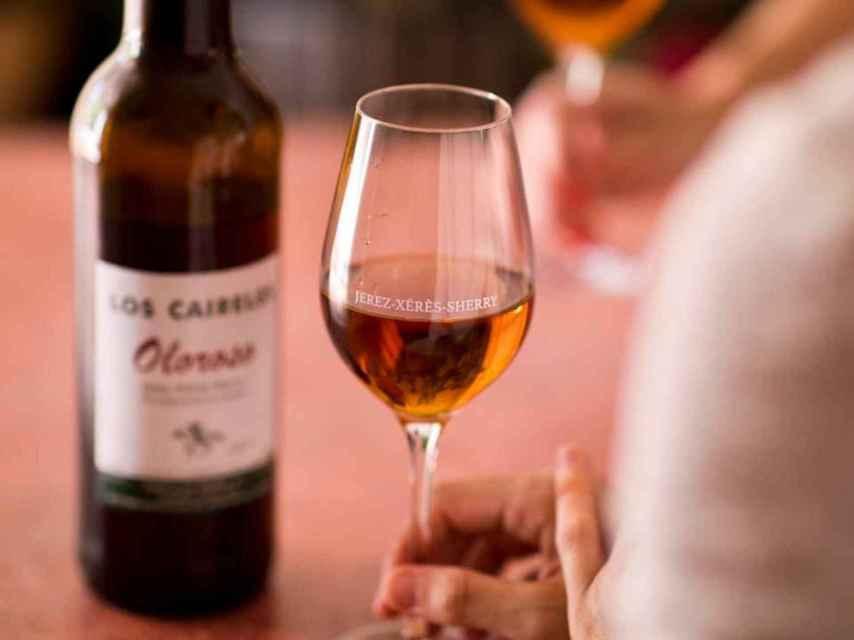 Oloroso es una mención tradicional de los vinos del Marco de Jerez.
