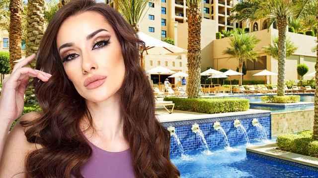 Adara se encuentra en Dubái alojada en uno de los hoteles de 5 estrellas más exclusivos del lugar.