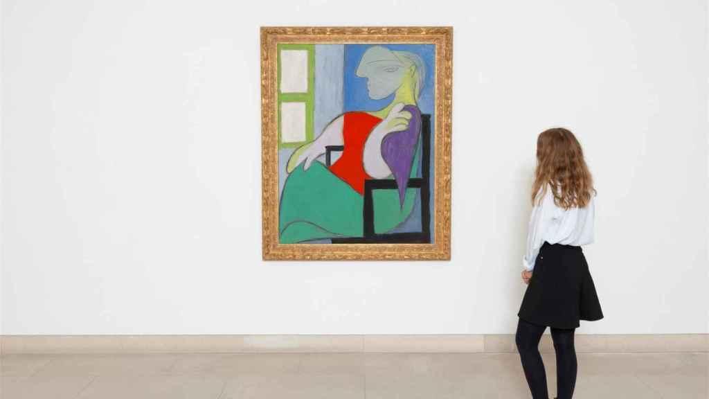 Femme assise près dune fenêtre (Marie-Thérèse)