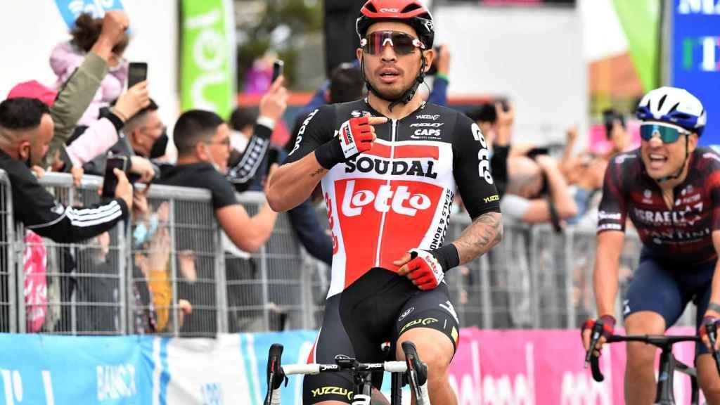 Caleb Ewan se lleva la séptima etapa del Giro de Italia 2021