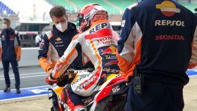 Marc Márquez en el Gran Premio de Francia de MotoGP