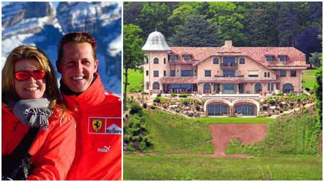 Michael Schumacher pone en venta su mansión de Suiza
