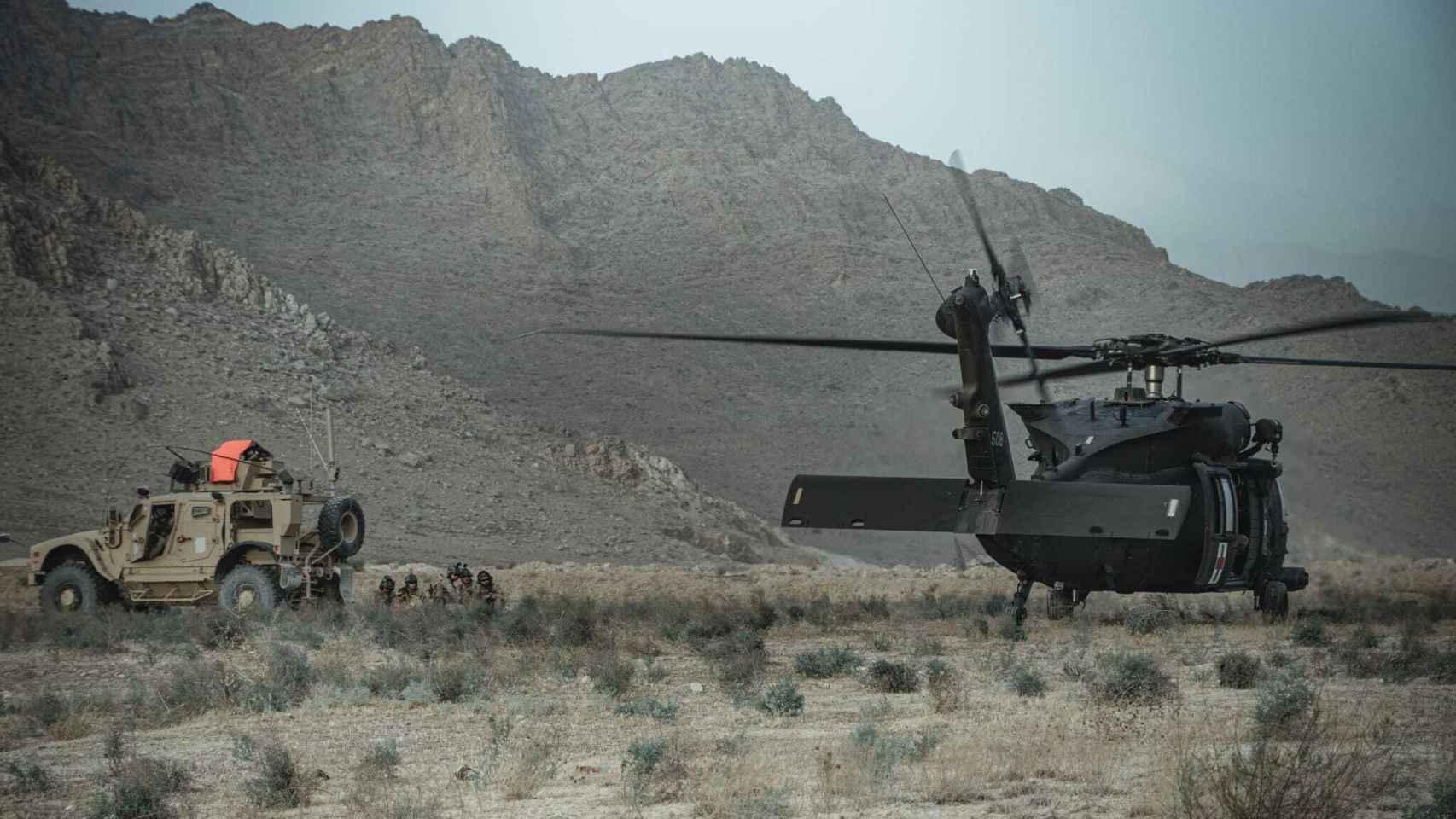 Los últimos días de las Fuerzas Armadas en Afganistán
