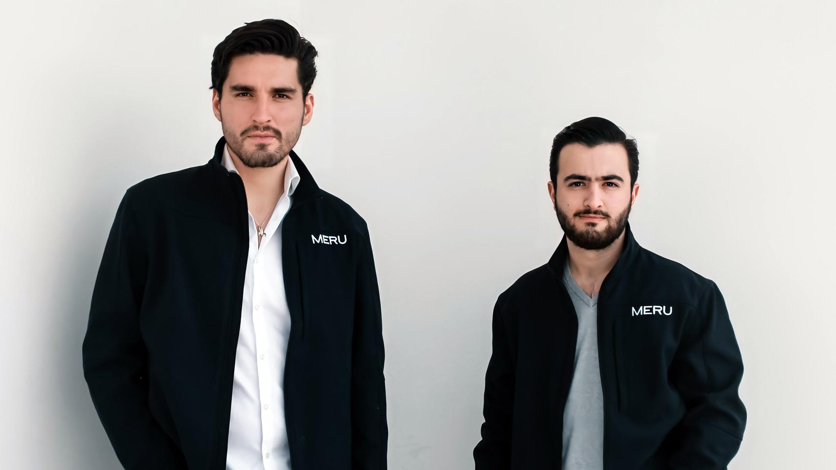 Los fundadores de Meru.