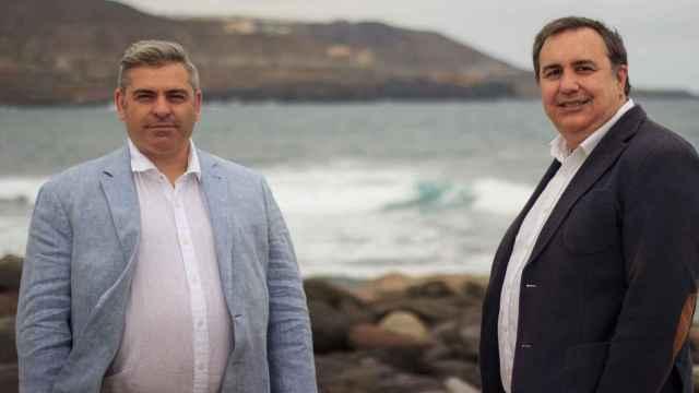 Fran Carballo y Francisco Javier Poveda, promotores de la aceleradora de ideas Akaben.