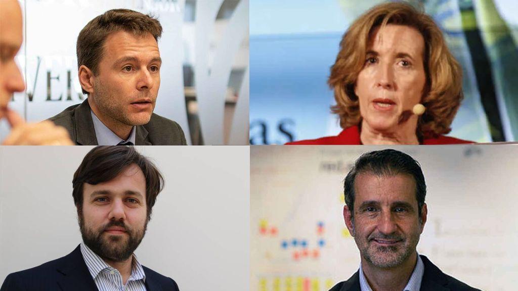 Daniel Fuentes, Ana de la Cueva, Víctor Echevarría y David Cierco.