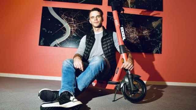 El CEO y fundador de VOI Technology, Fredrik Hjelm.