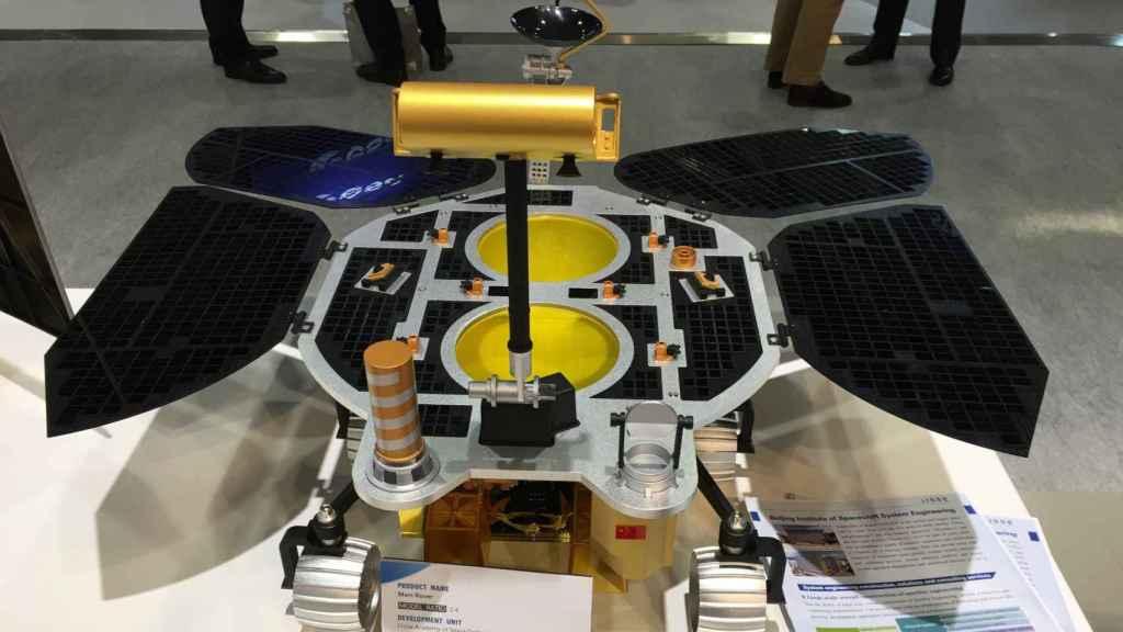 Maqueta del rover chino Zhurong