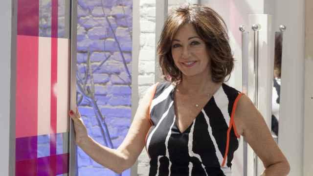 Ana Rosa Quintana, durante su entrevista con El Español.
