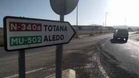 Entrada al municipio murciano de Totana donde se produjo una de las detenciones.