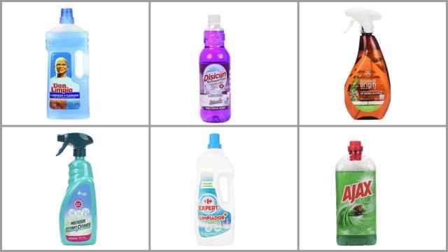 Los 12 mejores detergentes para limpiar la casa, según la OCU: entre 1,34 y 3 euros