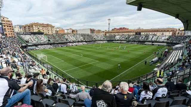 Nuevo Estadio Castalia, campo del Castellón, en el primer día con aficionados