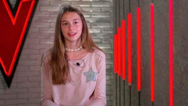 Carmen Puente, la hija del acalde de Valladolid que triunfó en 'La Voz Kids'