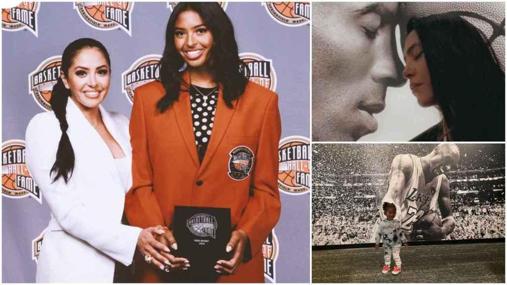 Vanessa Bryant y el homenaje a Kobe Bryant