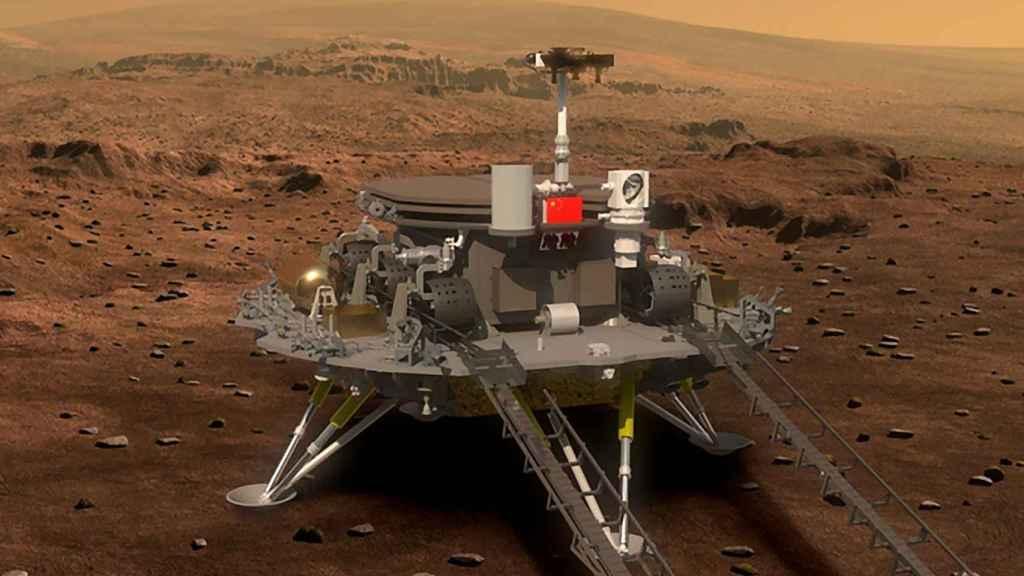 El rover marciano Zhurong