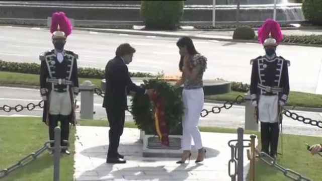 Almeida y Villacís participan en el acto en memoria de los fallecidos por la Covid-19