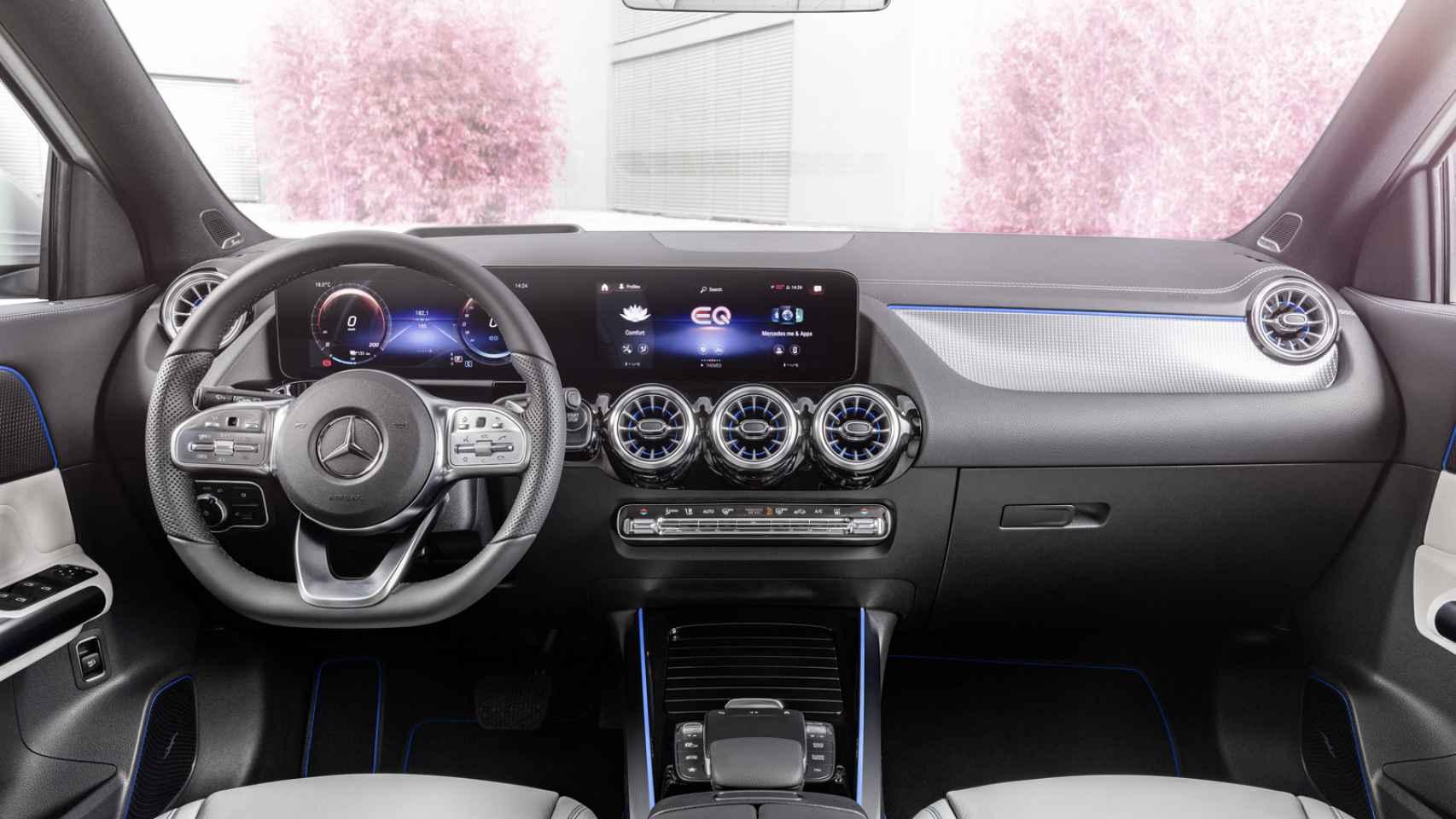 Mercedes EQA: fotos del Mercedes EQA 250, el nuevo SUV eléctrico de la marca alemana