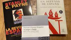 En defensa de España y La revolución española, de Stanley G. Payne, y A sangre y fuego, de Chaves Nogales.