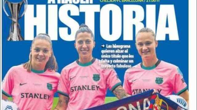 La portada del diario Mundo Deportivo (16/05/2021)