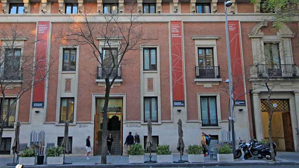 La Universidad Camilo José Cela, en Madrid.