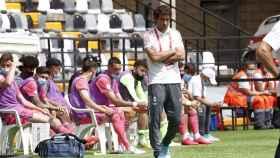 Raúl González, en la fase final de ascenso a Segunda División con el Real Madrid Castilla